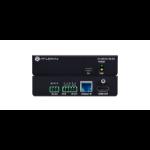 Atlona AT-UHD-EX-70C-RX AV extender AV receiver Black