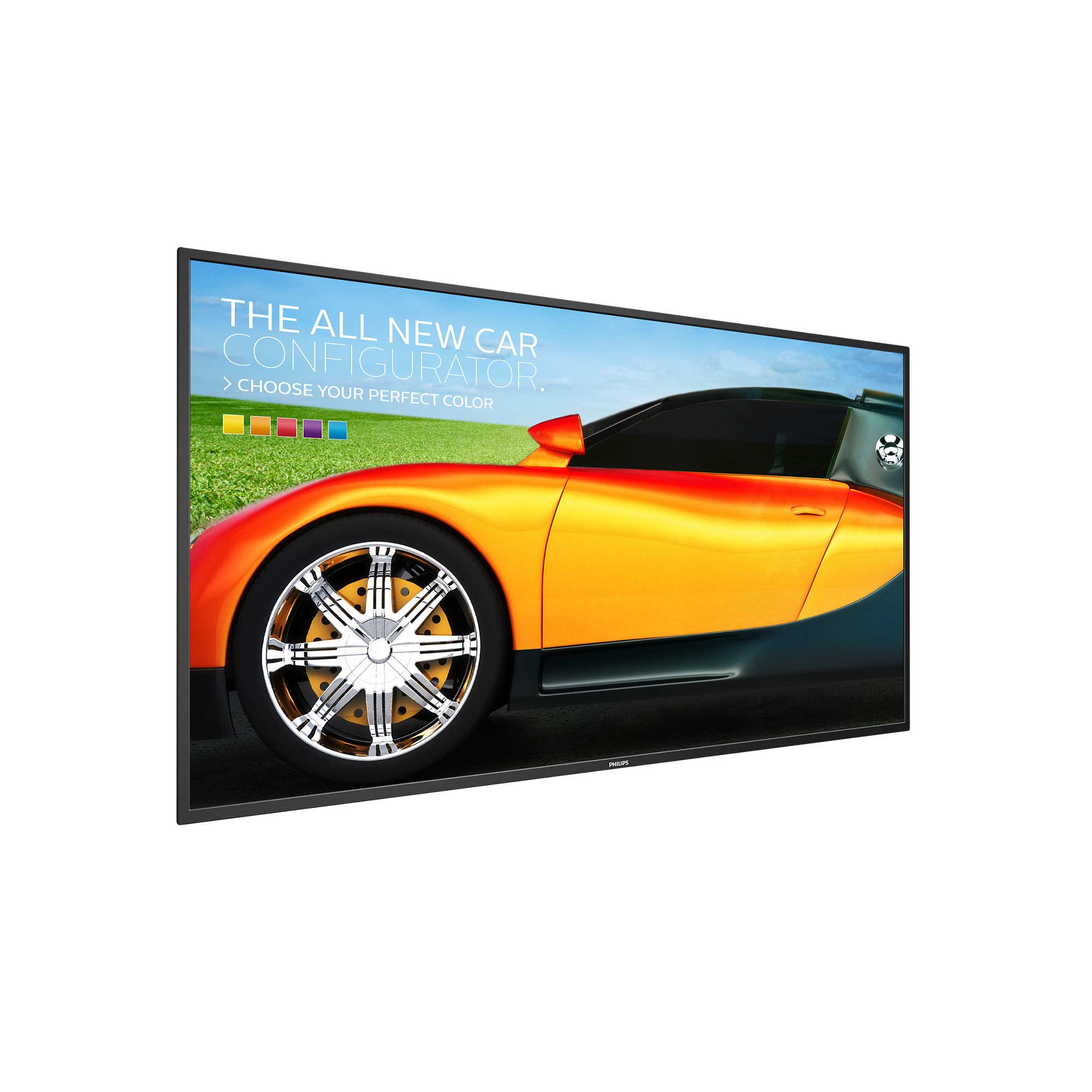 "Philips BDL4330QL 42.5"" LED Full HD Black"