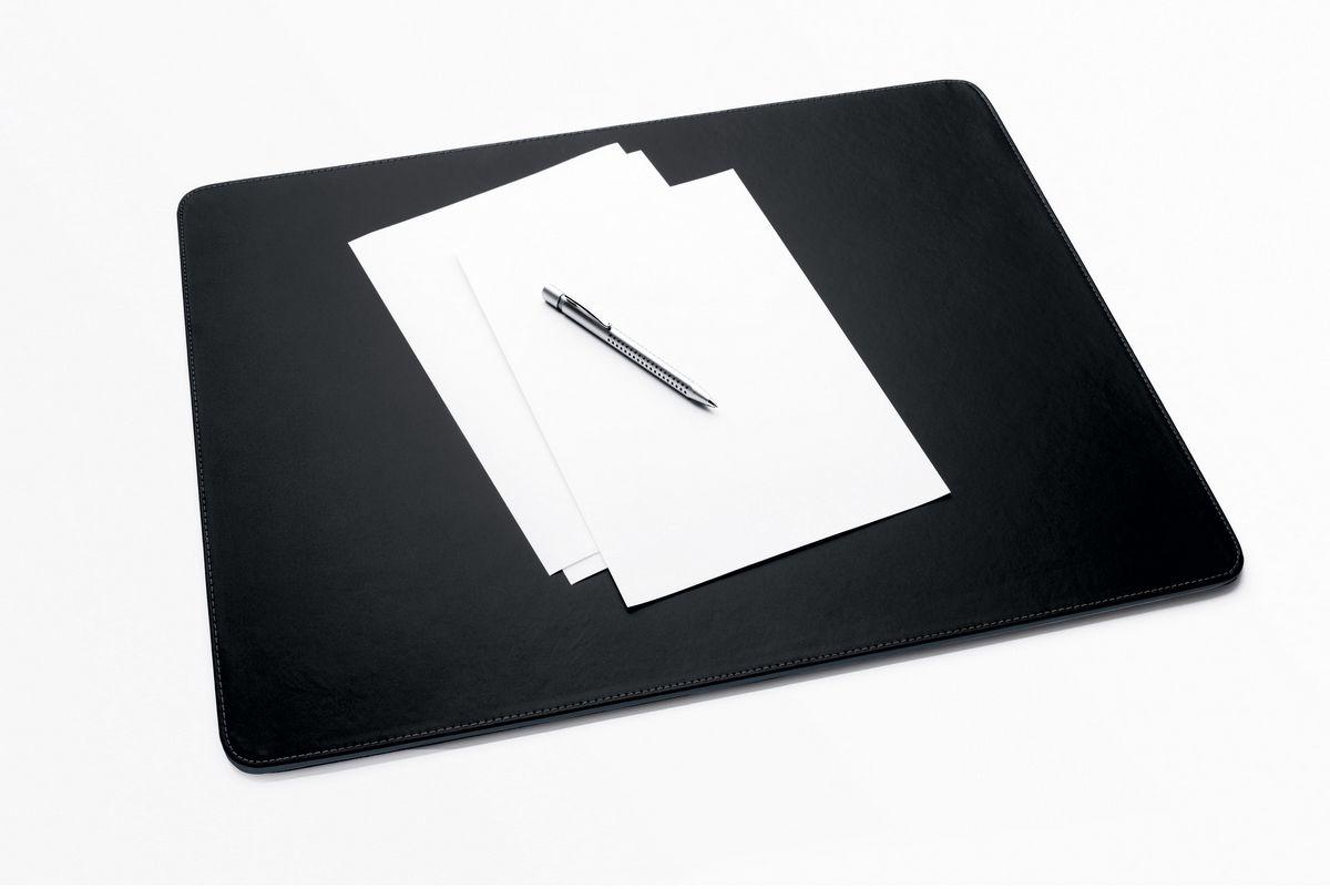 Sigel Büromaterial & Schreibwaren Leather Black,Grey desk pad