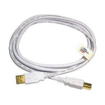 Cables Direct NLWT-102 2m USB A USB B White USB cable