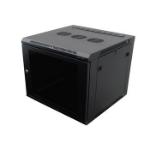 Penn Elcom R6609-M6 rack cabinet 9U Wall mounted rack Black