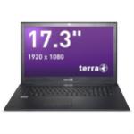 "Wortmann AG TERRA MOBILE 1715V Black Notebook 43.9 cm (17.3"") 1920 x 1080 pixels 7th gen Intel® Core™ i5 8 GB DDR4-SDRAM 1240 GB HDD+SSD Windows 10 Home"