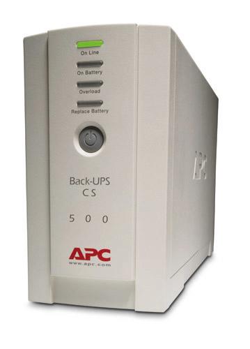 APC Back-UPS uninterruptible power supply (UPS) 500 VA 4 AC outlet(s) Standby (Offline)