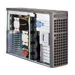 Supermicro SYS-7047AX-TRF Intel C602 Socket R (LGA 2011) 4U Black server barebone