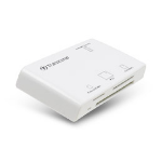 Transcend Multi-Card Reader P8 USB 2.0 White card reader