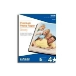"Epson Premium Photo Paper Glossy Borderless 5 x 7"" 20 Sheet papel fotográfico"