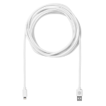 eSTUFF ES80121 mobile phone cable USB A Lightning White 3 m