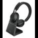 Jabra Evolve2 65, MS Stereo Headset Head-band Black