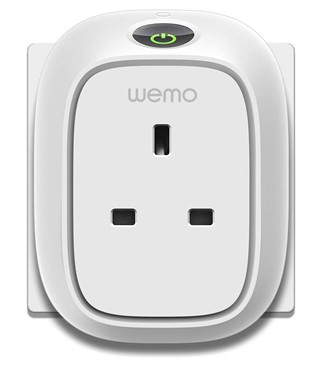 Belkin Wemo Insight Wi-Fi Smart Plug, Control Lights &  Appliances from Phone Manage Energy Works with Amazon Alexa