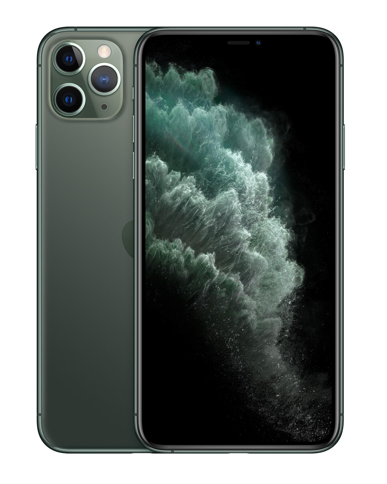 "Apple iPhone 11 Pro Max 16.5 cm (6.5"") 64 GB Dual SIM Green"