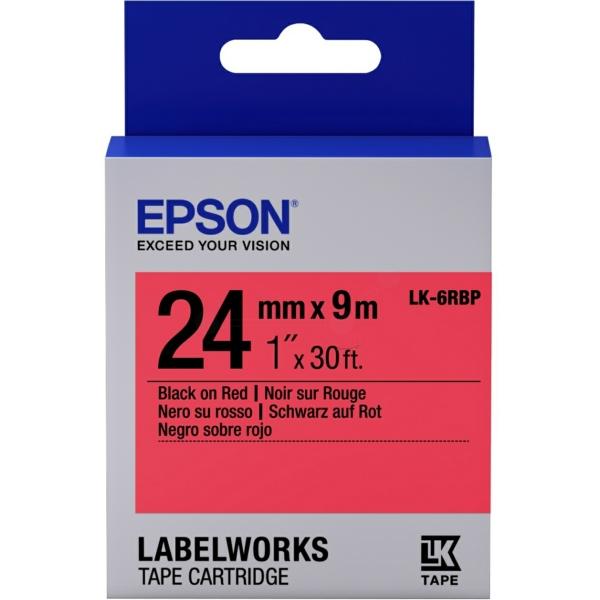 Epson C53S656004 (LK-6RBP) DirectLabel-etikettes, 24mm x 9m