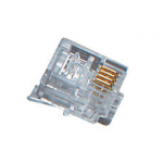 Black Box FM020 wire connector RJ-11 Transparent