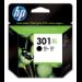 HP Cartucho de tinta original 301XL de alta capacidad negro