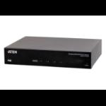 Aten VE44PB network extender Network transmitter & receiver Black
