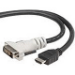 Belkin F2E8171-10-SV 3m HDMI DVI-D Black video cable adapter