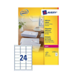 Avery L7159-250 addressing label White Self-adhesive label