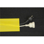 Generic Secure Cord Cable Cover Yellow - 5m Roll