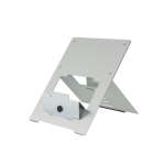 R-Go Tools Riser Laptop Stand Silver, flexible, adjustable, silver