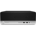 HP ProDesk 400 G5 DDR4-SDRAM i3-8100 SFF 8th gen Intel® Core™ i3 4 GB 1000 GB HDD Windows 10 Pro PC Black, Silver