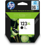 HP F6V19AE (123XL) Printhead cartridge black, 480 pages, 9ml
