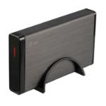 """i-tec MYSAFE35U401UK SSD enclosure 3.5"""" Black, Metallic HDD/SSD enclosure"""
