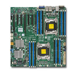 Supermicro X10DRH-CLN4 Intel C612 Socket R (LGA 2011) Extended ATX server/workstation motherboard