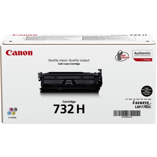 Canon 6264B002 (732H) Toner black, 12K pages