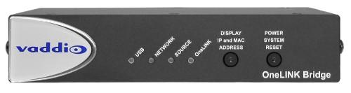 Vaddio OneLINK 1920 x 1080pixels Ethernet LAN Black