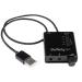StarTech.com Tarjeta de Sonido Estéreo USB Externa Adaptador Conversor con Salida SPDIF - Negro
