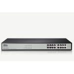 Netis System ST3116G Unmanaged Gigabit Ethernet (10/100/1000) Black,Grey network switch