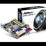 Asrock G41C-GS R2.0 LGA 775 (Socket T) Intel® G41 Micro ATX