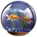 Fellowes Round Brite Mat Goldfish Bowl