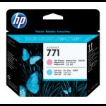 New Genuine HP 771 Light Magenta/Light Cyan DesignJet Printhead