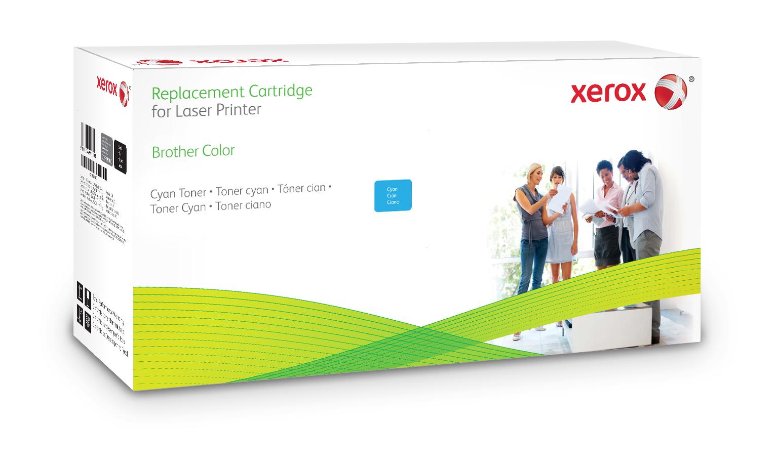 Xerox Cartucho De Tóner Cian. Equivalente A Brother Tn328C