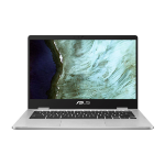 "ASUS Chromebook C423NA-EC0191 notebook Silver 35.6 cm (14"") 1920 x 1080 pixels Intel® Celeron® N3350 8 GB LPDDR4-SDRAM 32 GB Flash"
