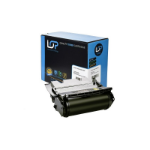 Click, Save & Print Remanufactured Lexmark 12A7462 Black Toner Cartridge