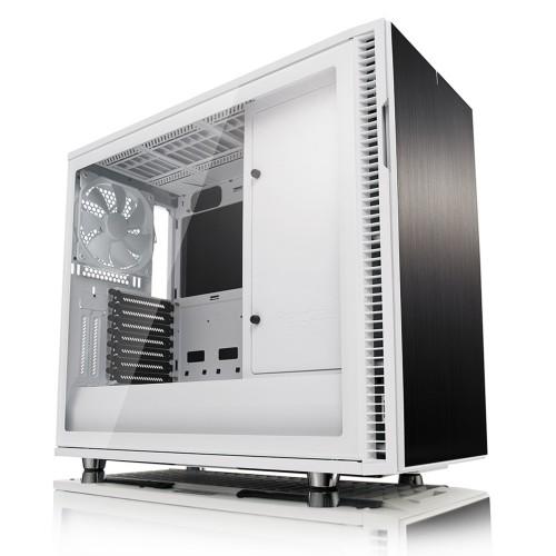 Fractal Design Define R6 USB-C–TG Midi ATX Tower White