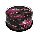MediaRange MR207 CD-R 700MB 50pc(s) blank CD