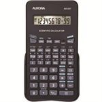 Aurora AX-501 Pocket Scientific calculator Black