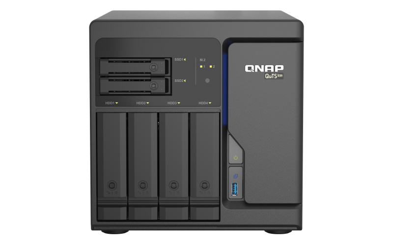 QNAP TS-h686 D-1602 Ethernet Tower Negro NAS