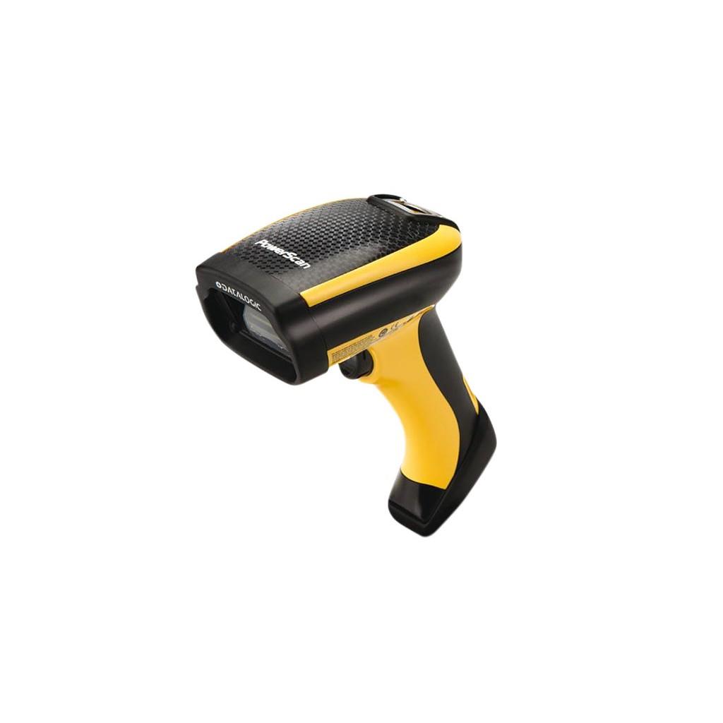 Datalogic PowerScan PM9500 Lector de códigos de barras portátil 1D/2D Fotodiodo Negro, Amarillo