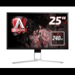 "AOC AGON 1 AG251FZ computer monitor 62.2 cm (24.5"") 1920 x 1080 pixels Full HD Black, Red"