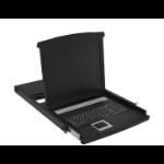 """Digitus DS-72012IT 19"""" 1920 x 1080pixels Black 1U rack console"""