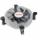 Akasa AK-CCE-7106HP computer cooling component Processor Cooler Black,Silver