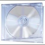 Ednet 5 CD Jewelcases Single Crystal 1discs Transparent