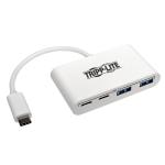 Tripp Lite 4-Port USB 3.1 Gen 1 Portable Hub, USB Type-C (USB-C) to (x2) USB-A and (x2) USB-C