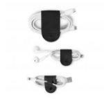 TWELVE SOUTH CableSnap (3Pk) MacBook USB-C charging cords Black