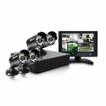 Swann DVR4-1525 4 Channel 960H DVR with 4 PRO-615 Cameras and 7-Inch LCD