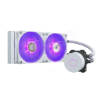 Cooler Master MasterLiquid ML240L V2 RGB White Edition computer liquid cooling