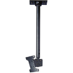 "Peerless LCC-18-C flat panel ceiling mount 29"" Black"